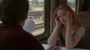 Still: Before Sunrise (1995) - lunch car