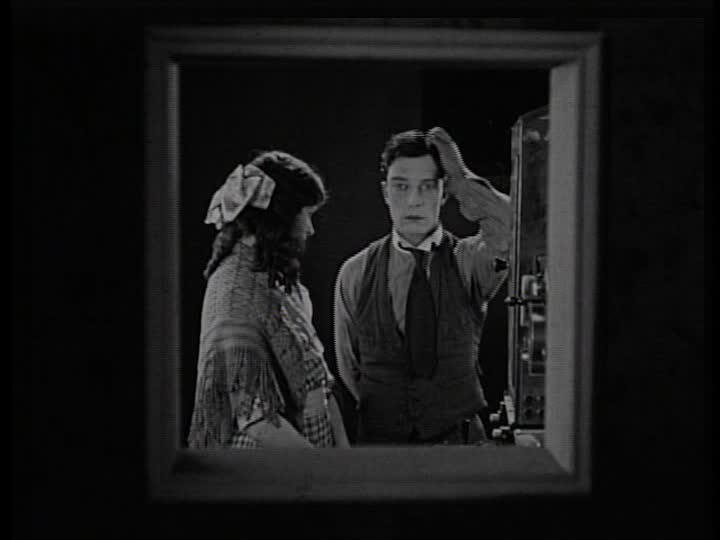 "a review of sherlock jr a film by buster keaton Ne of the most enjoyable of the auteur's works, buster keaton's ""sherlock jr"" is a  notably short feature film, clocking in at just over 40 minutes but it wastes no."